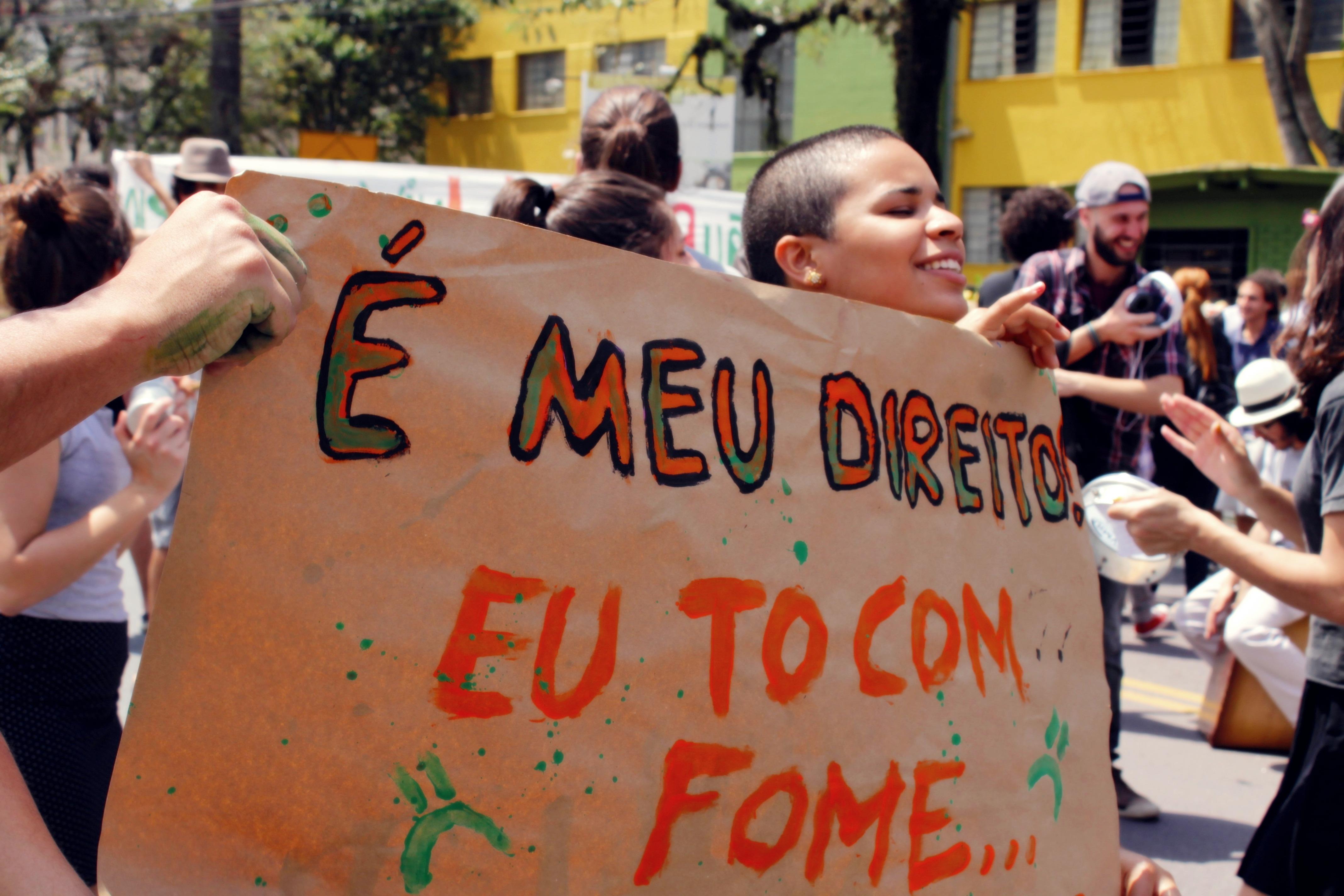 protesto de alunos da FAP