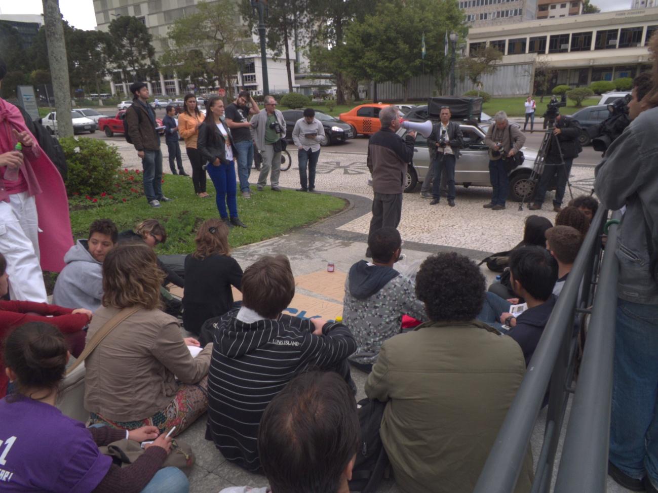 Aula Pública - Frente de Luta pelo Transporte