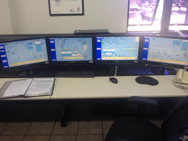 O sistema integrado de distribuição e monitoramento faz parte de um planejamento comutadorizado (Foto: Thais Barbosa)