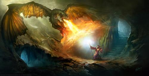 As partidas de Magic contêm vários elementos de fantasia, como anjos, demônios e elfos, criaturas inspiradas em contos como os de Tolkien, autor da trilogia Senhor dos Anéis. Cada carta possui uma história própria que justifica um duelo estratégico entre os jogadores. (Foto: Reprodução/Gregorz Rutkowski)