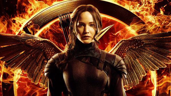 Poster de A Esperança - parte 1 mostra Jennifer Lawrence, como Katniss Everdeen, e o Tordo, símbolo da revolução. (Foto: Divulgação)