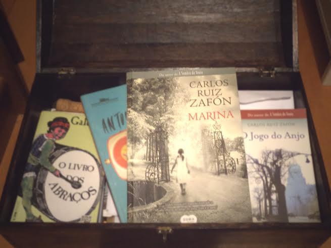 O Circulê pretende incentivar as pessoas a doarem os livros que marcaram suas vidas (Foto: Bruno Vieira)
