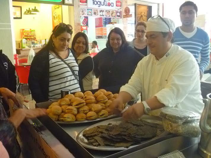 Amante da gastronomia, Miguel Loera trouxe novos sabores para quem aproveitou as novidades da Corrente Cultural 2014 (Foto: Lisyê Zadorosny)