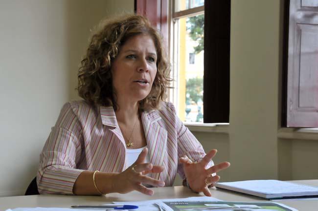 """Roseli Isidoro: """"Nós fizemos um levantamento e descobrimos que a maior dificuldade das mulheres é ter orientação jurídica gratuita"""" Foto: Gilson Camargo."""