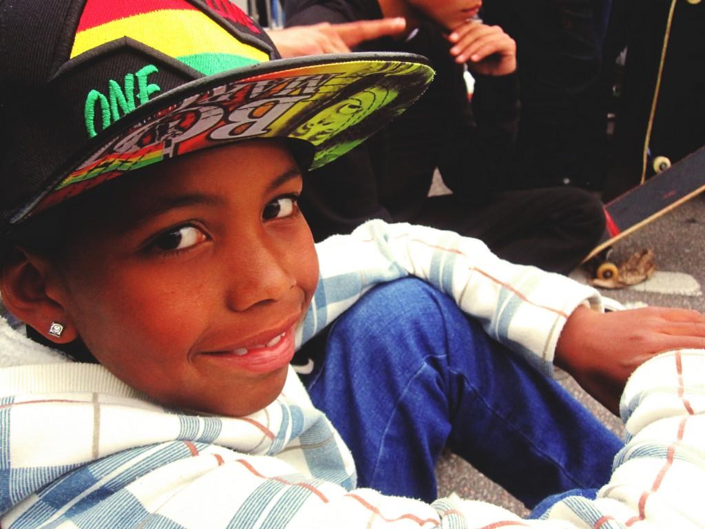 Bruno começou no skate há 1 ano e meio e sente falta de uma pista na Vila Verde, onde mora. Foto: Débora Avadore