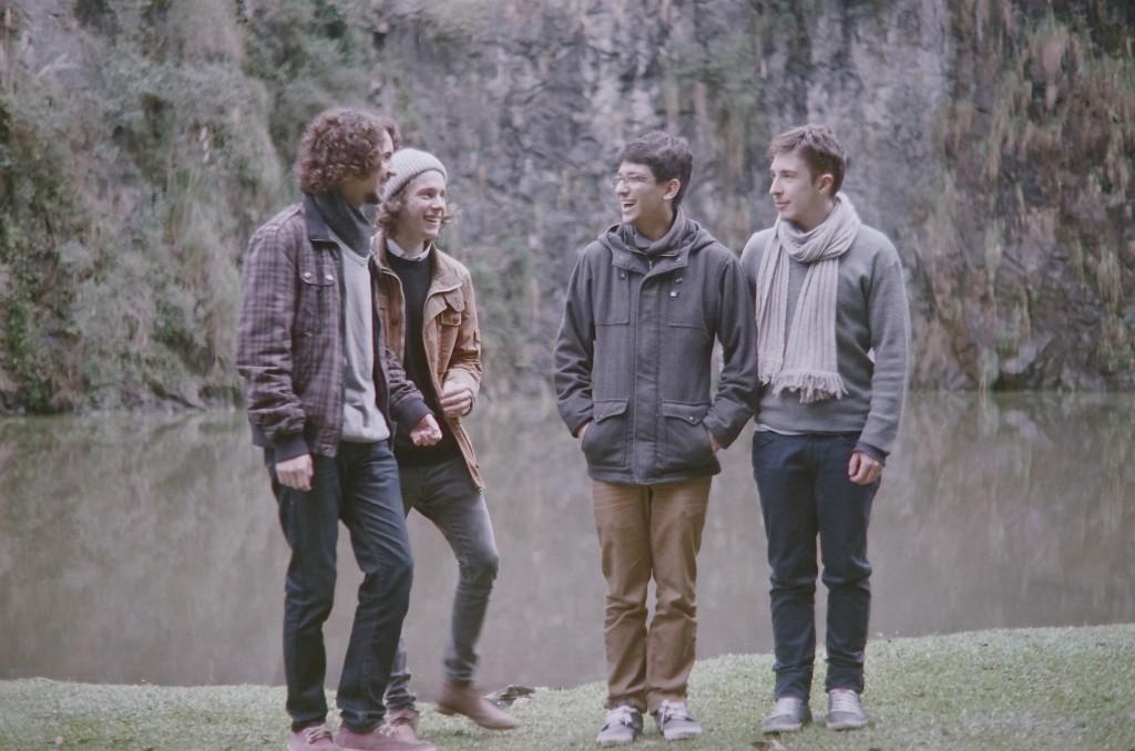 A banda, que se prepara para o lançamento de um novo EP, atualmente está em hiato para composição (Foto: