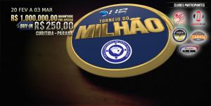 Torneio do Milhão conta com premiação milionária por apenas R$250. (Foto: Divulgação)