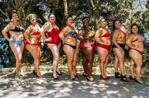 """Ensaio fotográfico """"Mulheres Reais"""" aconteceu na Urca, Rio de Janeiro, como forma de protesto pela gordofobia. Crédito: Filipe Reis"""