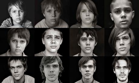 O crescimento de Mason Jr. em Boyhood (Foto: Divulgação)