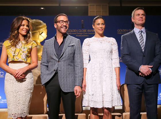 Os vencedores foram anunciados pelos atores Kate Beckinsale, Jeremy Piven, Paula Patton e Peter Krause, no Beverly Hilton Hotel. (Foto: Divulgação)