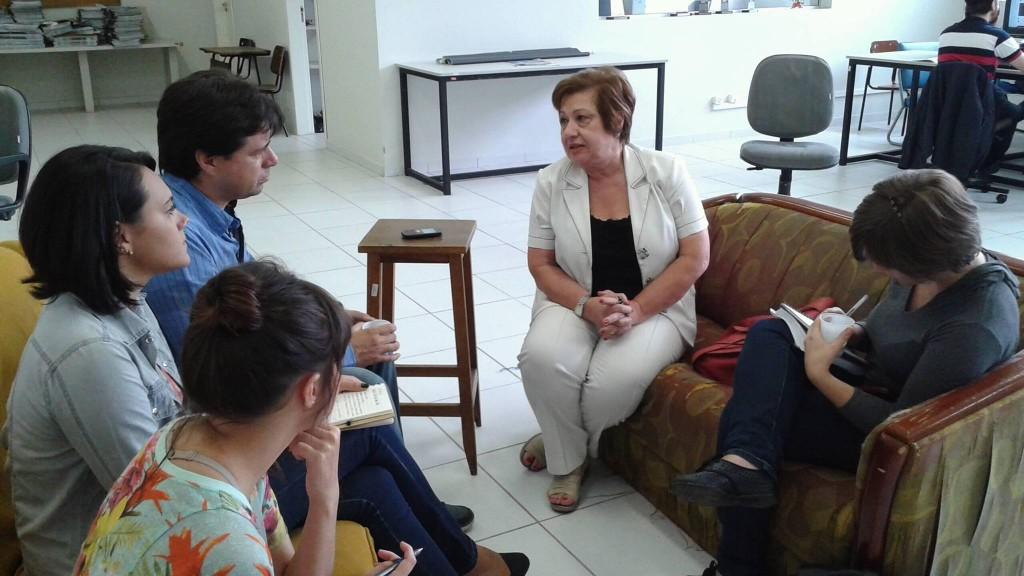"""""""A vaga pública deve ser encarada com muita responsabilidade"""", explica  Maria Amélia Sabbag Zainko (Foto: Carlos Baldo)"""