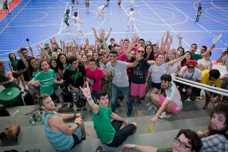 Integração entre estudantes de diversas faculdades durante o JUCS  (Foto: Lucas Vaz)