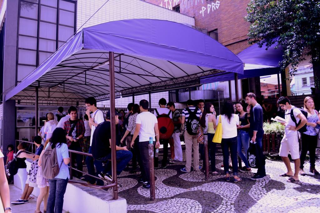 A troca de cardápios diária é uma das principais reclamações dos estudantes. (Foto: Valsui Júnior)