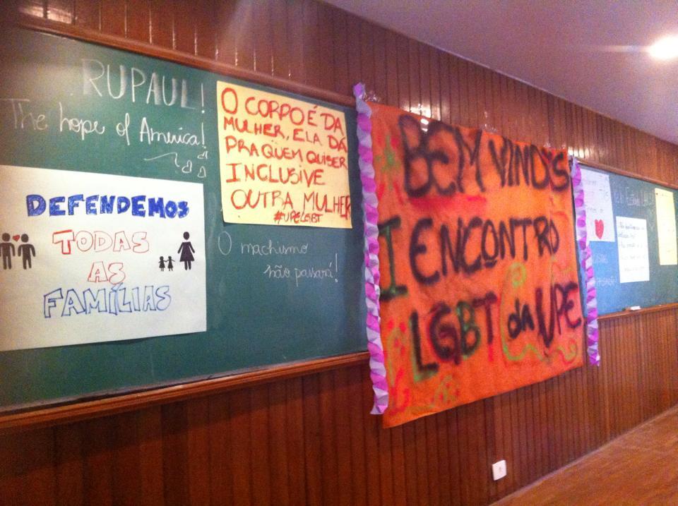 I Encontro LGBT da UPE foi marcado pelo ampliação da discussão e planos para o futuro. (Foto: divulgação)