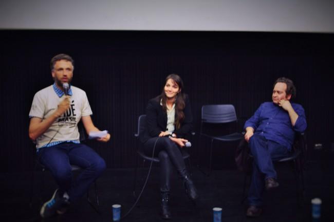 Além dos filmes, o FIDÉ também contou com debates sobre o estudo e a prática do cinema documentário  (Foto: Jean Gemeli)