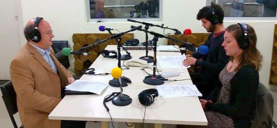 Greve, DCE e Ebserh: entrevista exclusiva com o reitor Zaki Akel Sobrinho. Ouça o Jornal Rádio Comunicação