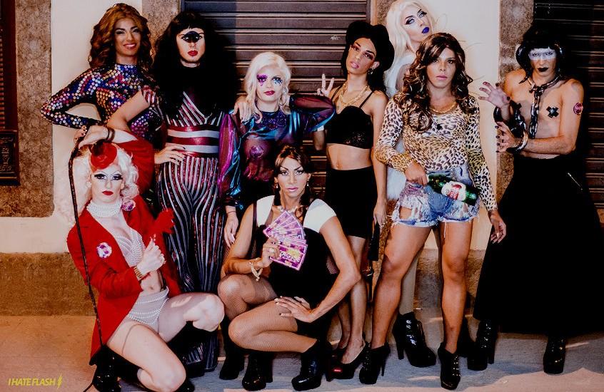 Nove das 13 participantes do Drag-se (Foto: Reprodução Ladobi)