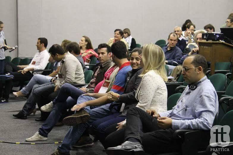 As palestras foram ministradas em inglês por professores de Universidades de ponta do Brasil, Estados Unidos e Bélgica.  (Foto: Prattica)