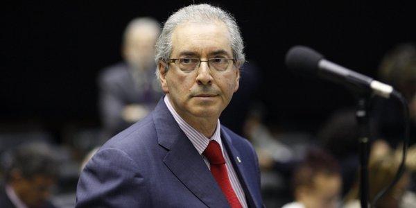 """Eduardo Cunha, líder da Câmara Federal, já admitiu publicamente que relação entre PT e PMDB é """"conflituosa"""".  (Foto/ reprodução: BrasilPost)"""