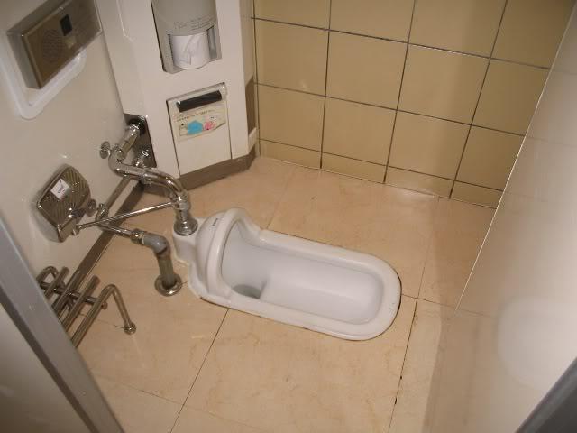 Modelo de banheiro oriental (Foto: Reprodução Namastê)