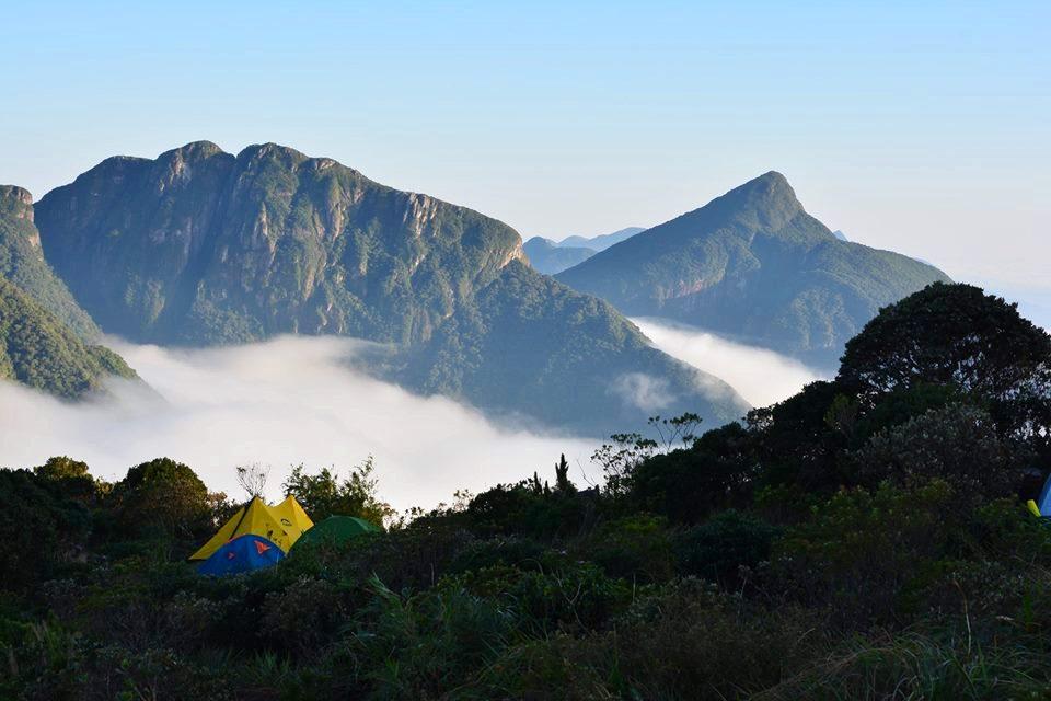 Com 1800 metros, o Pico Paraná é o maior do sul do Brasil (Plínio Lopes)