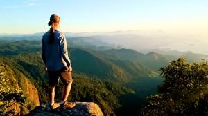 Matheus Jorel registrou em vídeo sua primeira experiência no montanhismo (Renato Rezende)