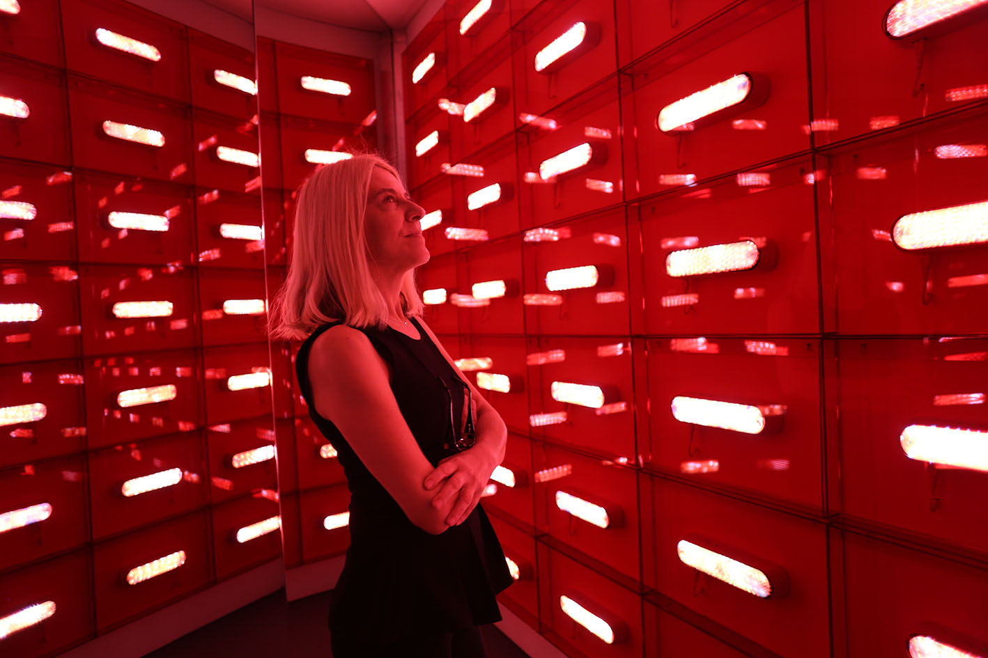 A luz vermelha de Eliane Prolik