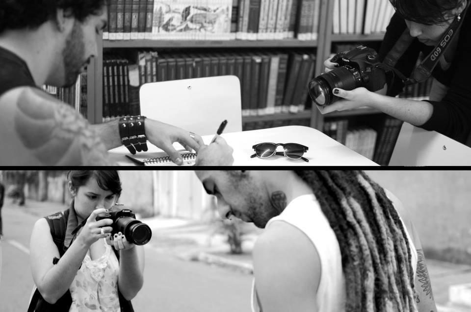 Making of do documentário Life by the Skin (Créditos: Life By The Skin)